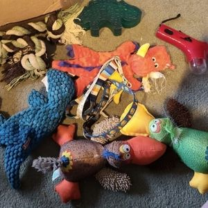 Large Collection of Doggy Toys